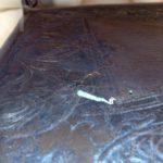 Renowacja tapicerki skórzanej w zabytkowym krześle