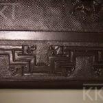 Renowacja tapicerki skórzanej w zabytkowym fotelu